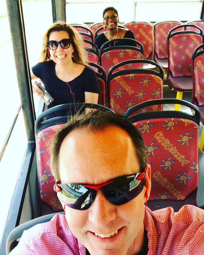 Enjoying a bus tour after a long flight. Adjusting to a new time. #ASKinUAE https://t.co/ejfDuDQNPd
