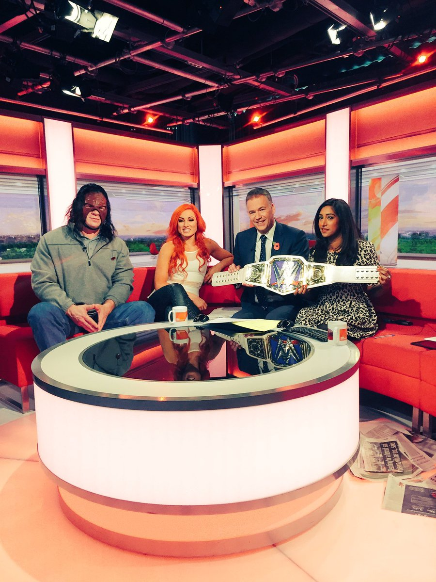 Thought Kane with his mask on BBC Breakfast was strange? Here are 5 weird wrestling interviews