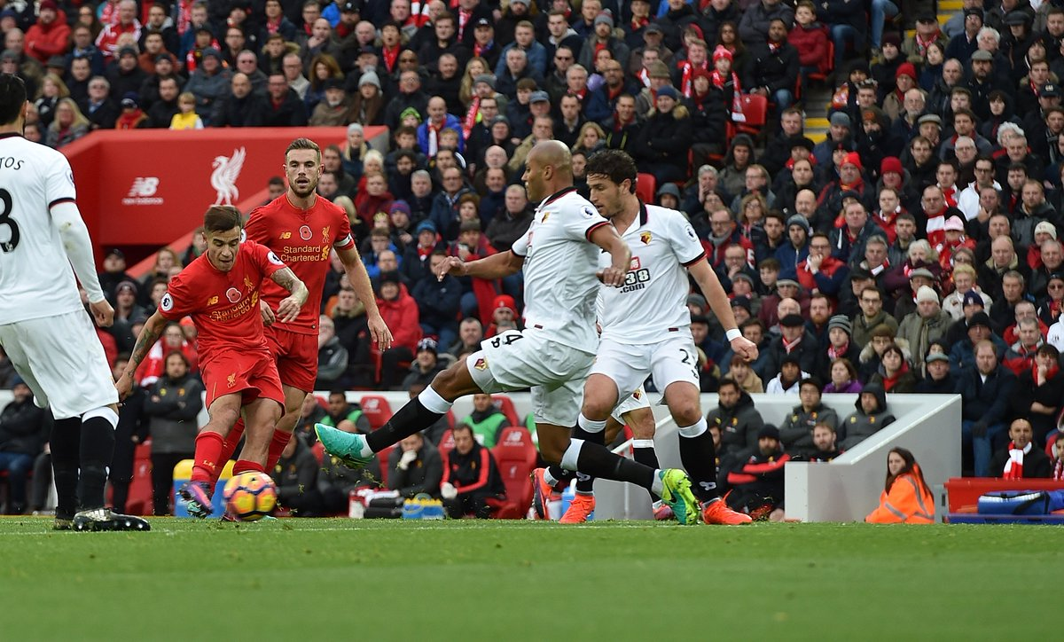 Lances de Liverpool 6x1 Watford - Premier League 16-17