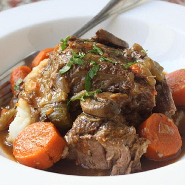 Slow Cooker Beef Pot Roast by foodwishes
