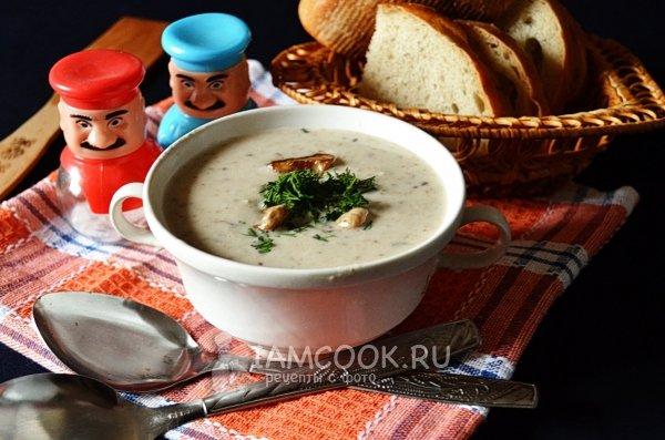 Рецепт суп из белых грибов