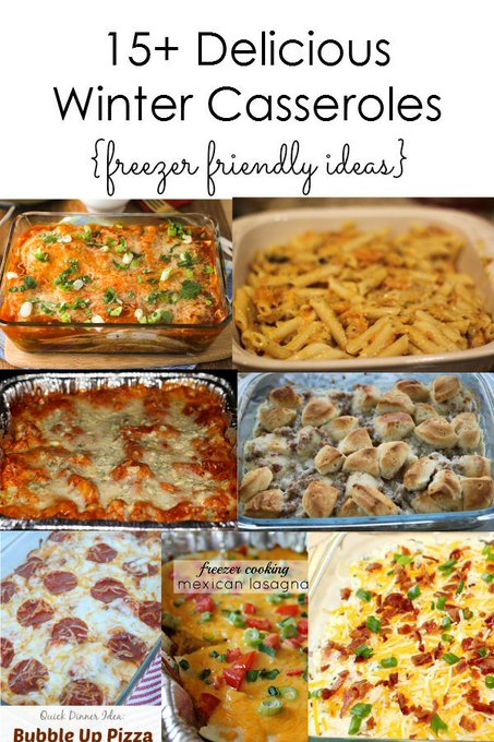 15+ Delicious Winter Casseroles to Try