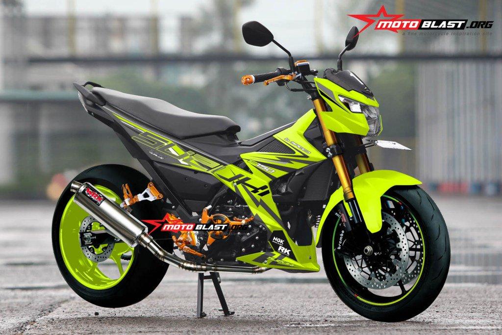 """Blog Motoblast On Twitter: """"Modifikasi Striping Suzuki"""