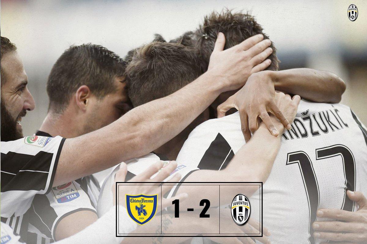 Chievo-JUVENTUS: risultato firmato Pjanic e Mandzukic