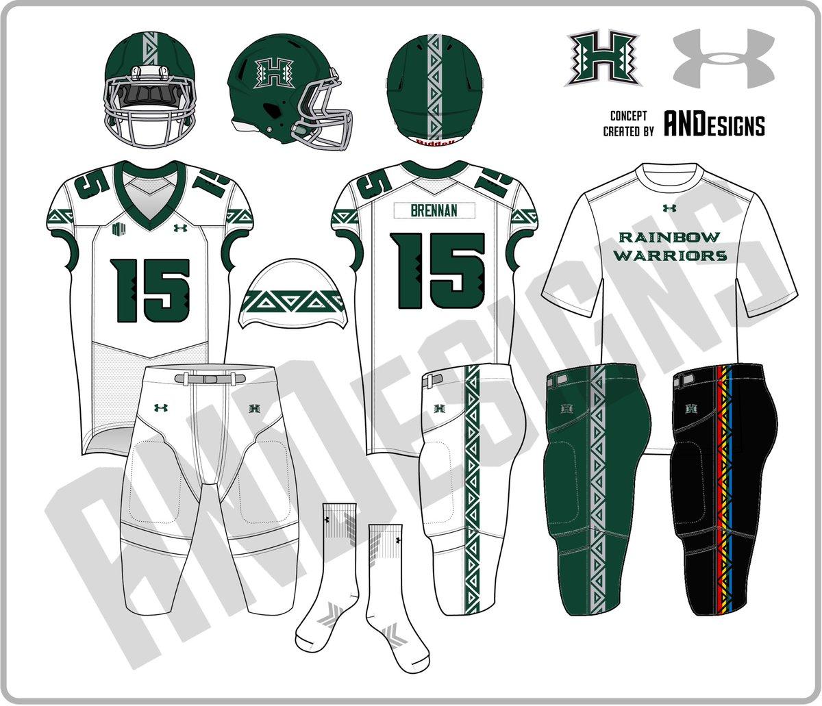 innovative design 6d30d 244f0 NCAA Football Uniform Concepts