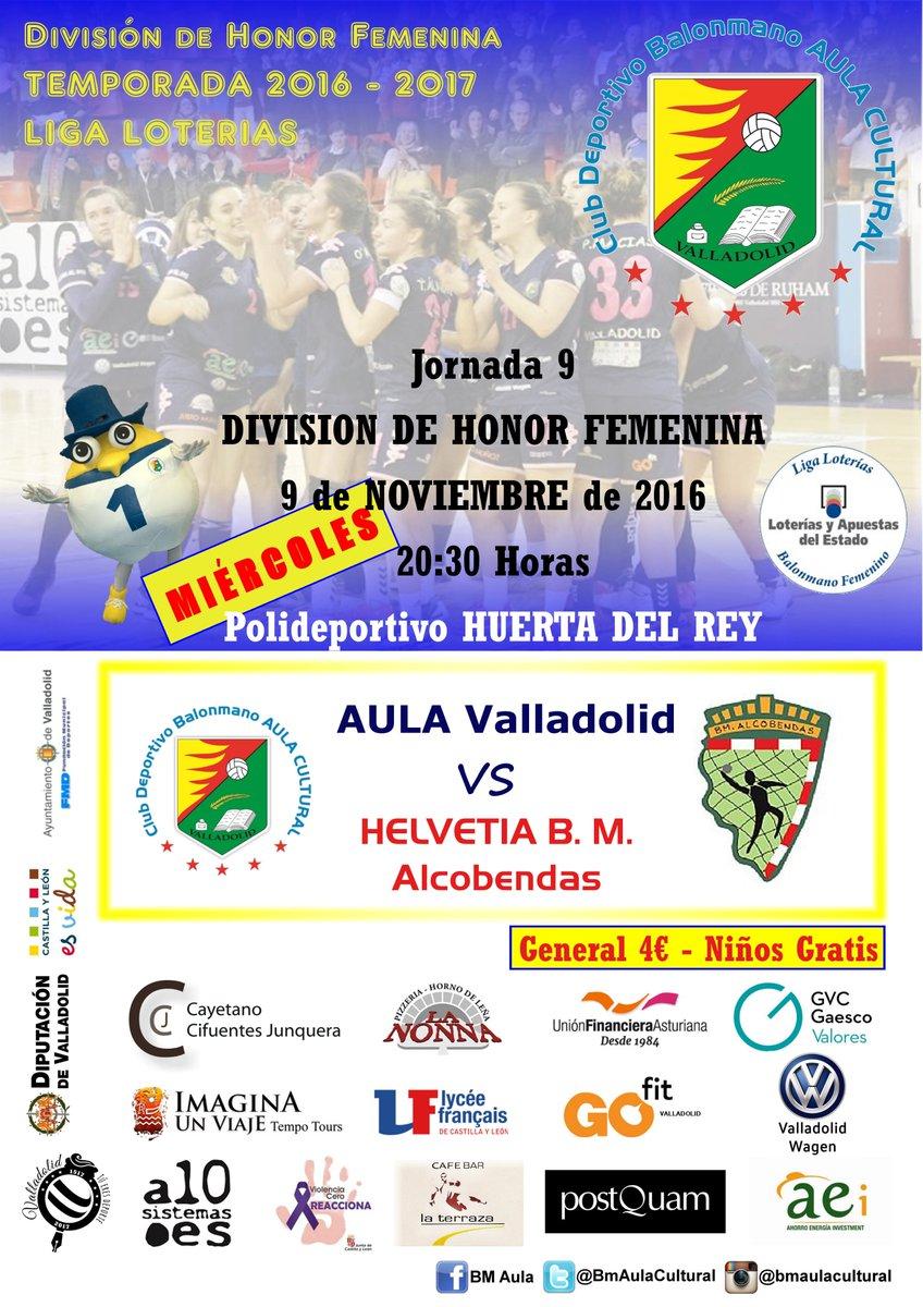 Miércoles 9 Nov: AULA-Alcobendas