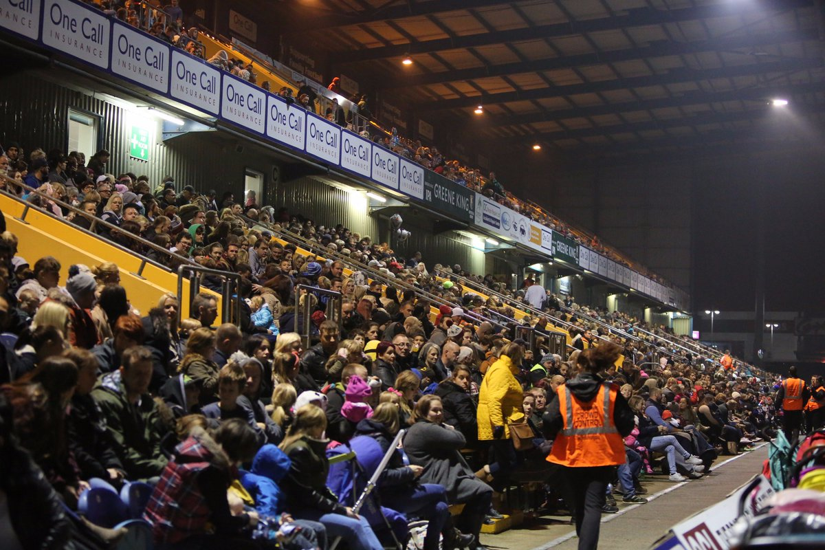 """Mansfield Town FC on Twitter: """"FIREWORKS: Gates are now ..."""