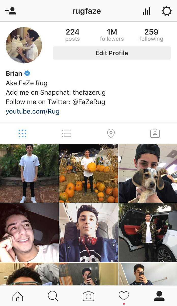 Rug On Twitter Thank You Guys For 1 Million Followers Instagram Follow Spree Later Today