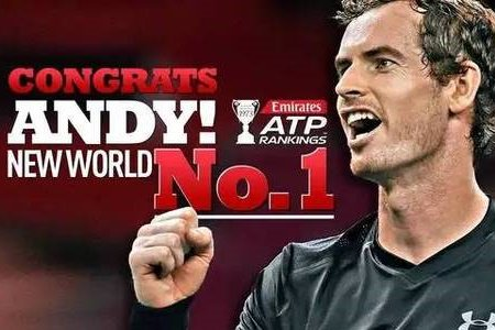 Murray will finally reach the pinnacle of his career when he takes over from Djokovic as world number one Tennis player when the rankings are updated.