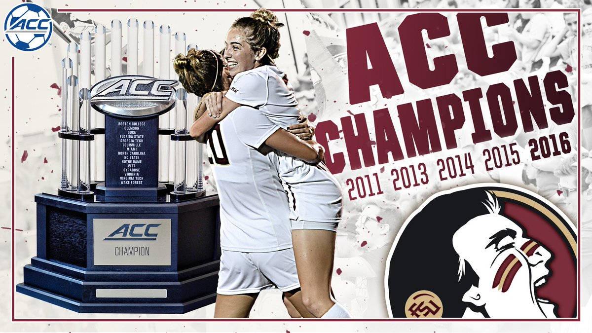 The Noles are your 2016 ACC Champions!! https://t.co/VEeRQF1ozt