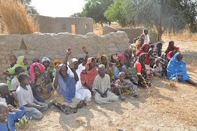 Troops of Nigerian Army, Operation LAFIYA DOLE, led by GOC of the Division rescued 85 people from Boko Haram at Chukungudu in northern parts of Borno