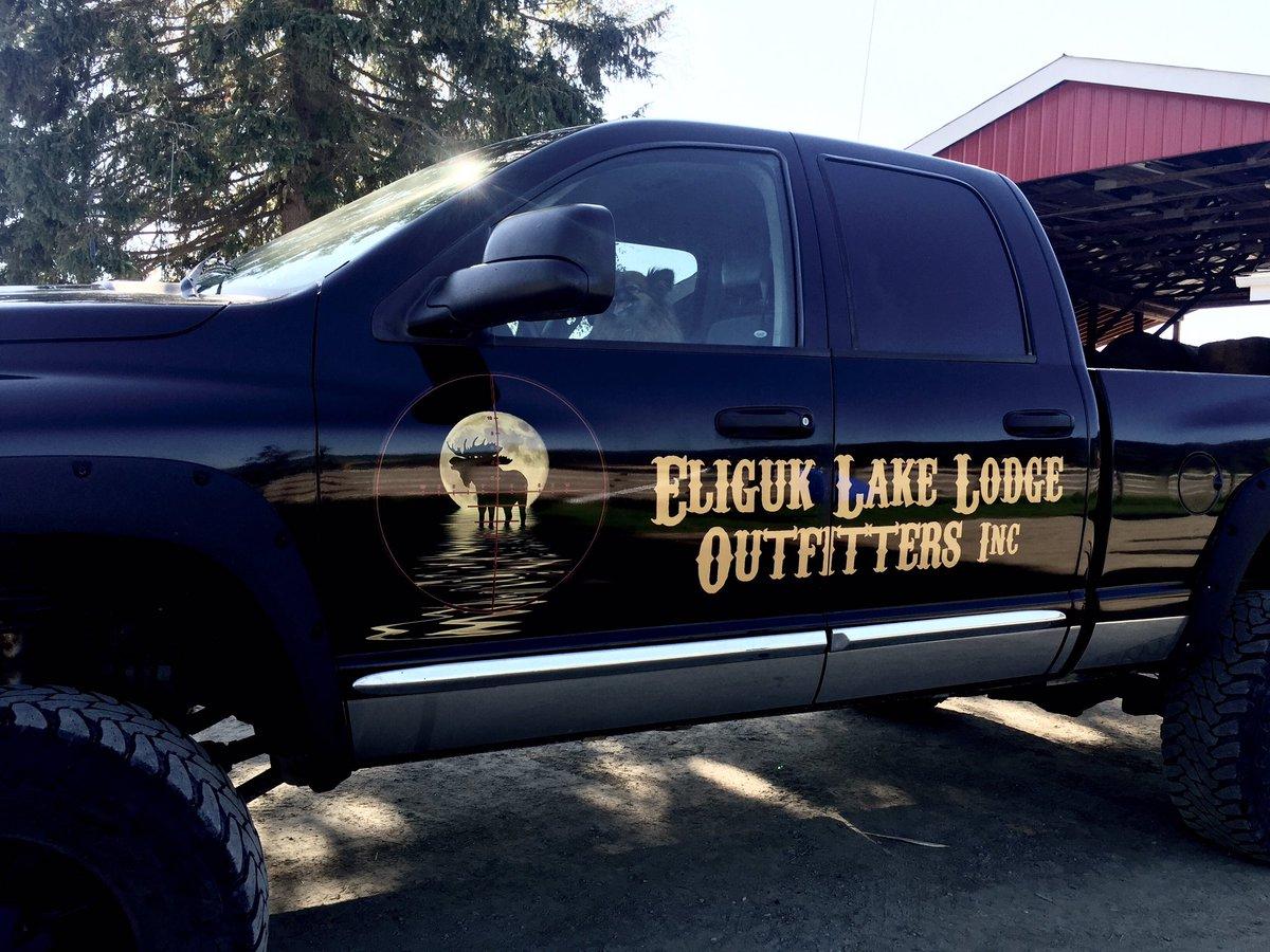 Eliguk Lake Lodge Outfitters On Twitter Eliguklakelodge Truck Decals Dodge Diesel Turbo Moose Flyfishing Fishing Trout Hunting Britishcolumbia Moon Lake Https T Co Edi4wa8qge