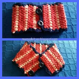 DIY: Cuello de ganchillo para beb DIY Deco