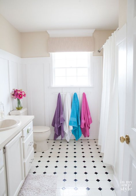 DIY Home Improvement: Budget Bathroom Makeover via inmyownstyle