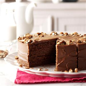 Delicious! Spiced Devil\'s Food Cake
