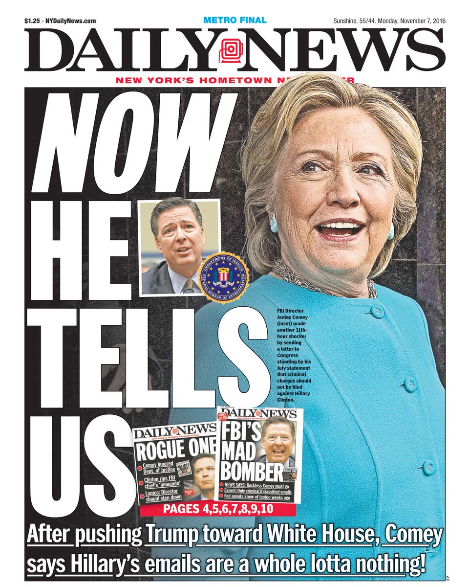 New York Daily News: NY Daily News Front Cover