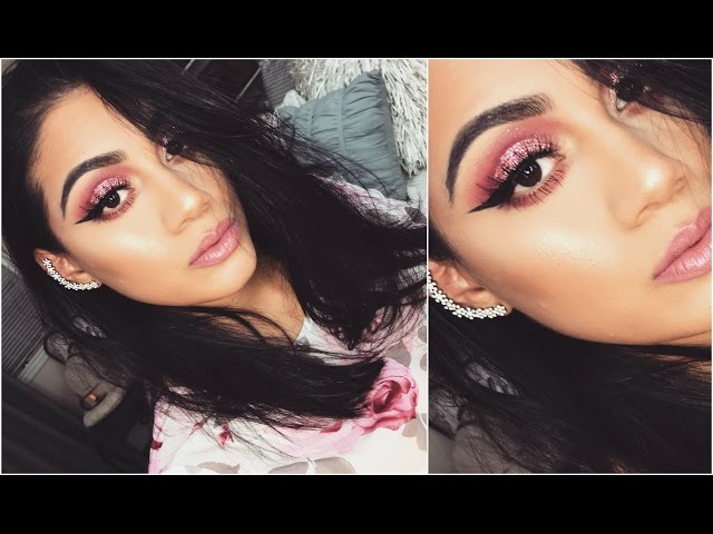 Pretty in PINK makeup tutorial