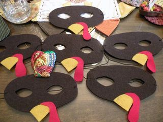 Thanksgiving masks for children party DIY craftsforkids