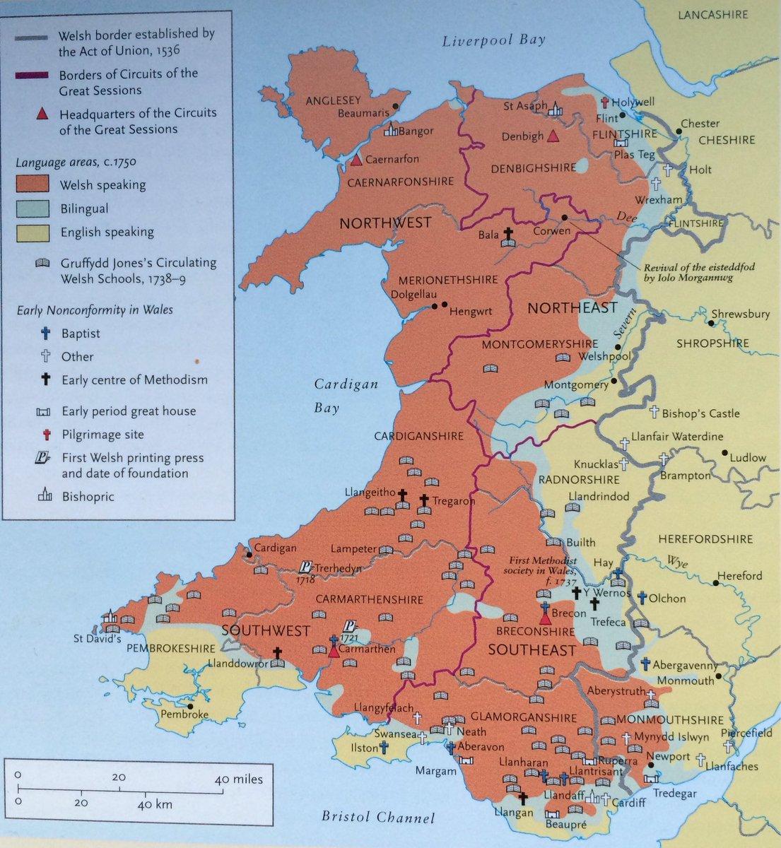 Frank Selby On Twitter Iaith Gymraeg Map Cymru Welsh - Welsh language map