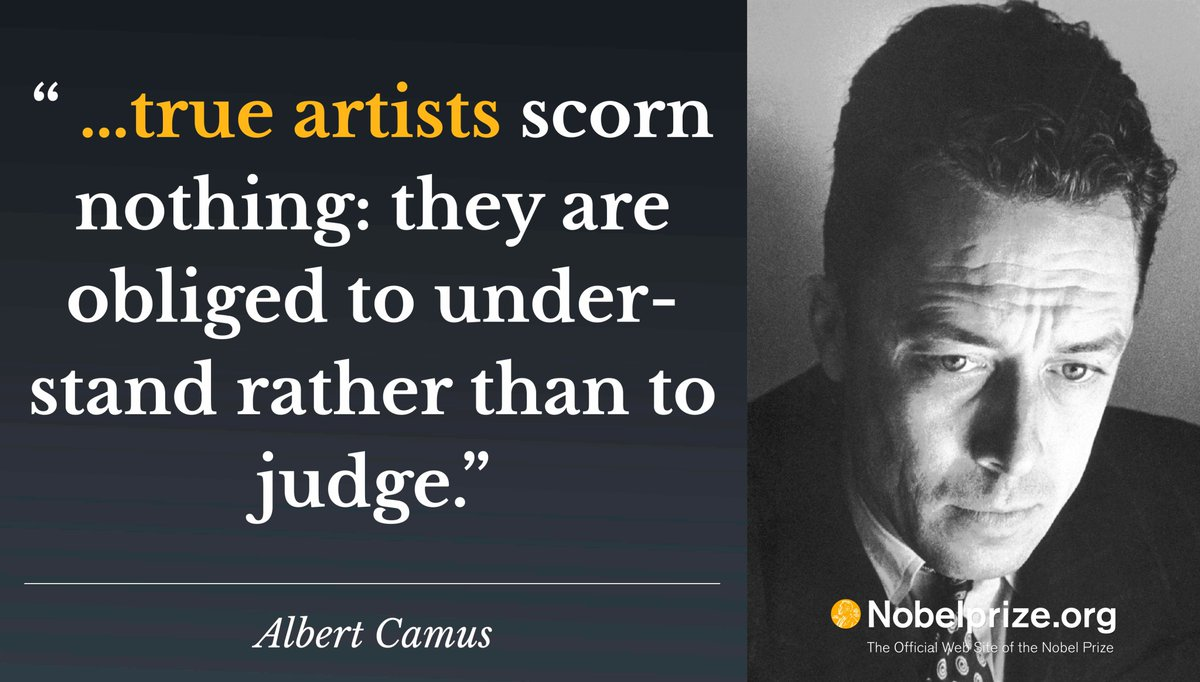 1957 Literature Laureate Albert Camus Born On 7 November 1913 In French Algeria Now NobelPrizepictwitter NRbsxvtsLB