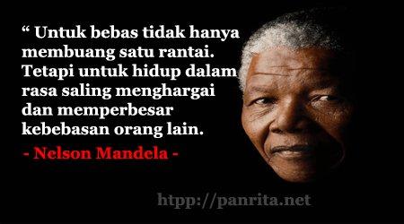 Panrita Media على تويتر Kumpulan Kata Bijak Nelson Mandela Tentang Kebebasan Https T Co Usxmem9dmp