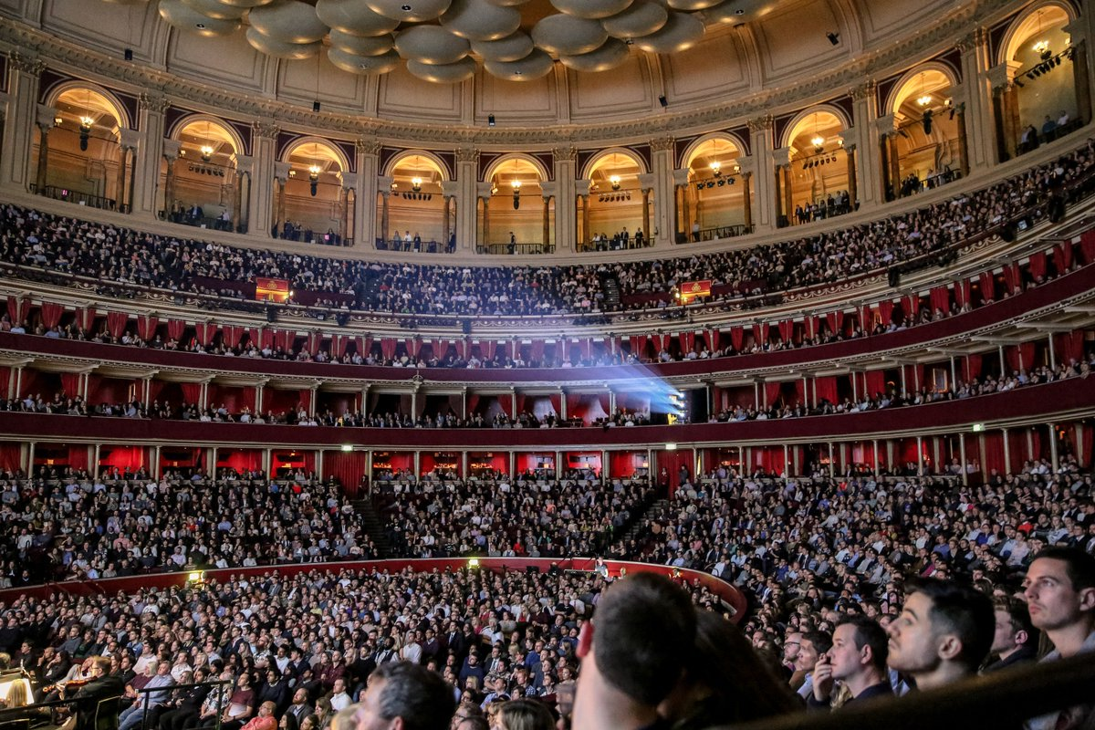 Featured tweets by royal albert hall royalalberthall for Door 12 royal albert hall