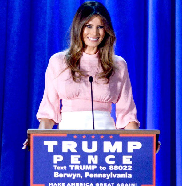 Melania Trump Shares Her Vision And Inspiration For America https://t.co/pnRAgmX9ip https://t.co/bM5j4iTQ4w