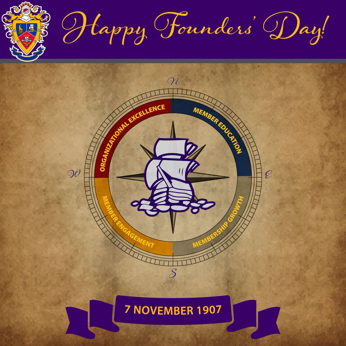 Happy #DSPFoundersDay! Let's make our Founders' proud by moving forward and furthering a #DSPHigherStandard. https://t.co/CEHmNYagzI