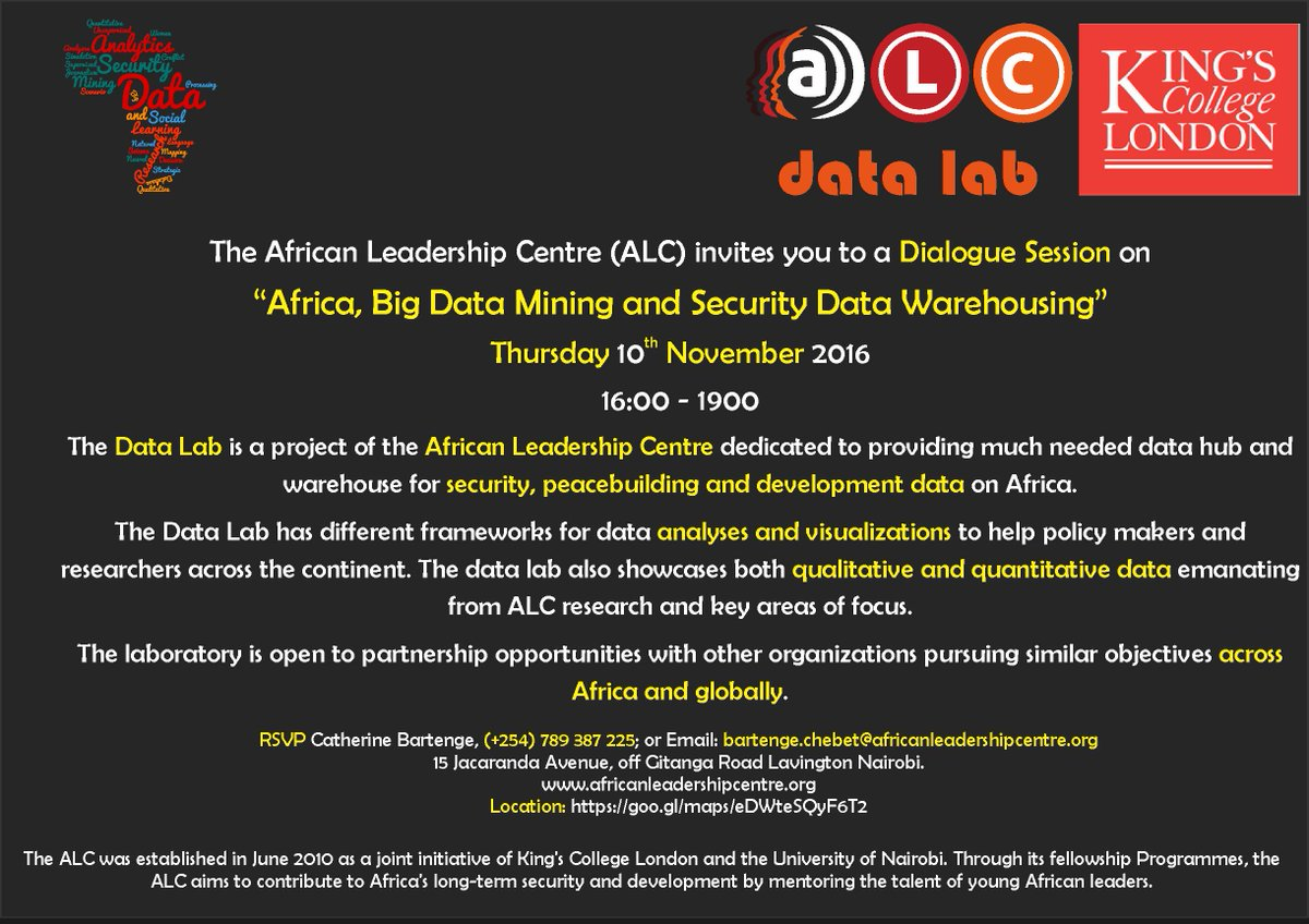 African Leadership Centre on Twitter: