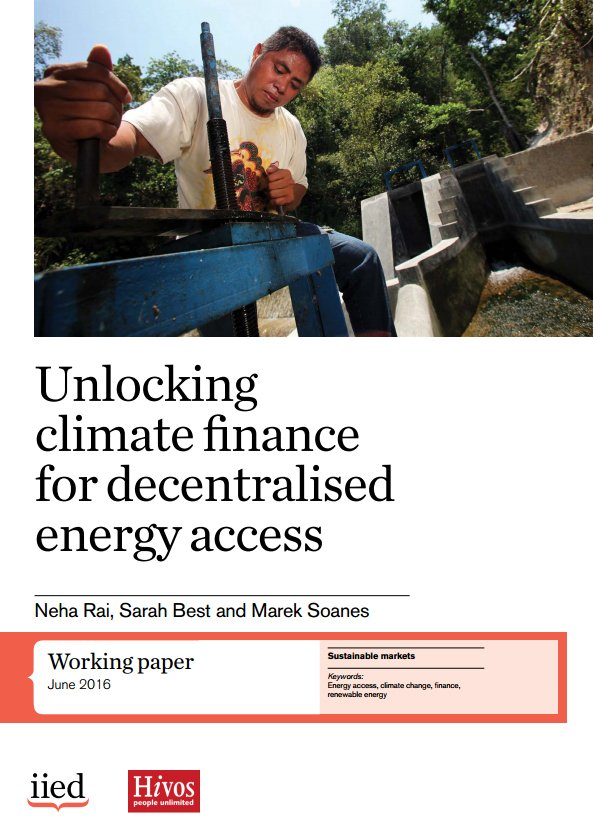 If interested in Best's research into unlocking #climatefinance for decentralised #energyaccess download the report: https://t.co/KKmMtU4dv5 https://t.co/TWYfuOXHD0