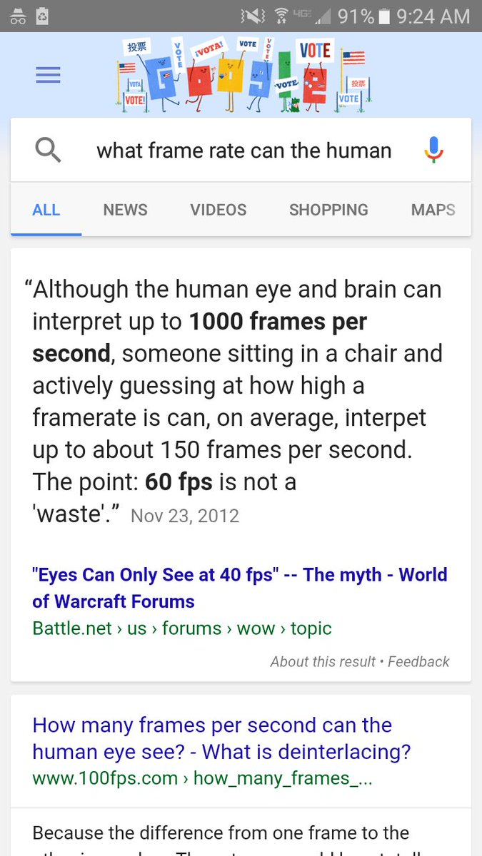Perfect How Many Frames Per Second Does The Human Eye See ...