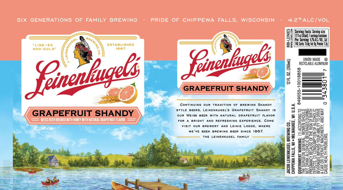 Where to buy leinenkugel s grapefruit shandy - Mybeerbuzz On Twitter Leinenkugel S Updating Grapefruit Summer Shandy Packaging Https T Co Uxbbkmm1pc Leinenkugels Wibeer