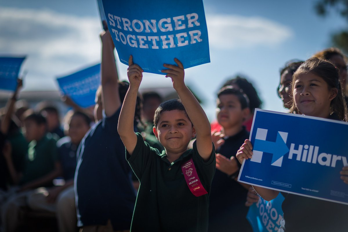 You Are All Our Kids No Matter What >> Hillary Clinton On Twitter If You Believe All Our Kids Should Have