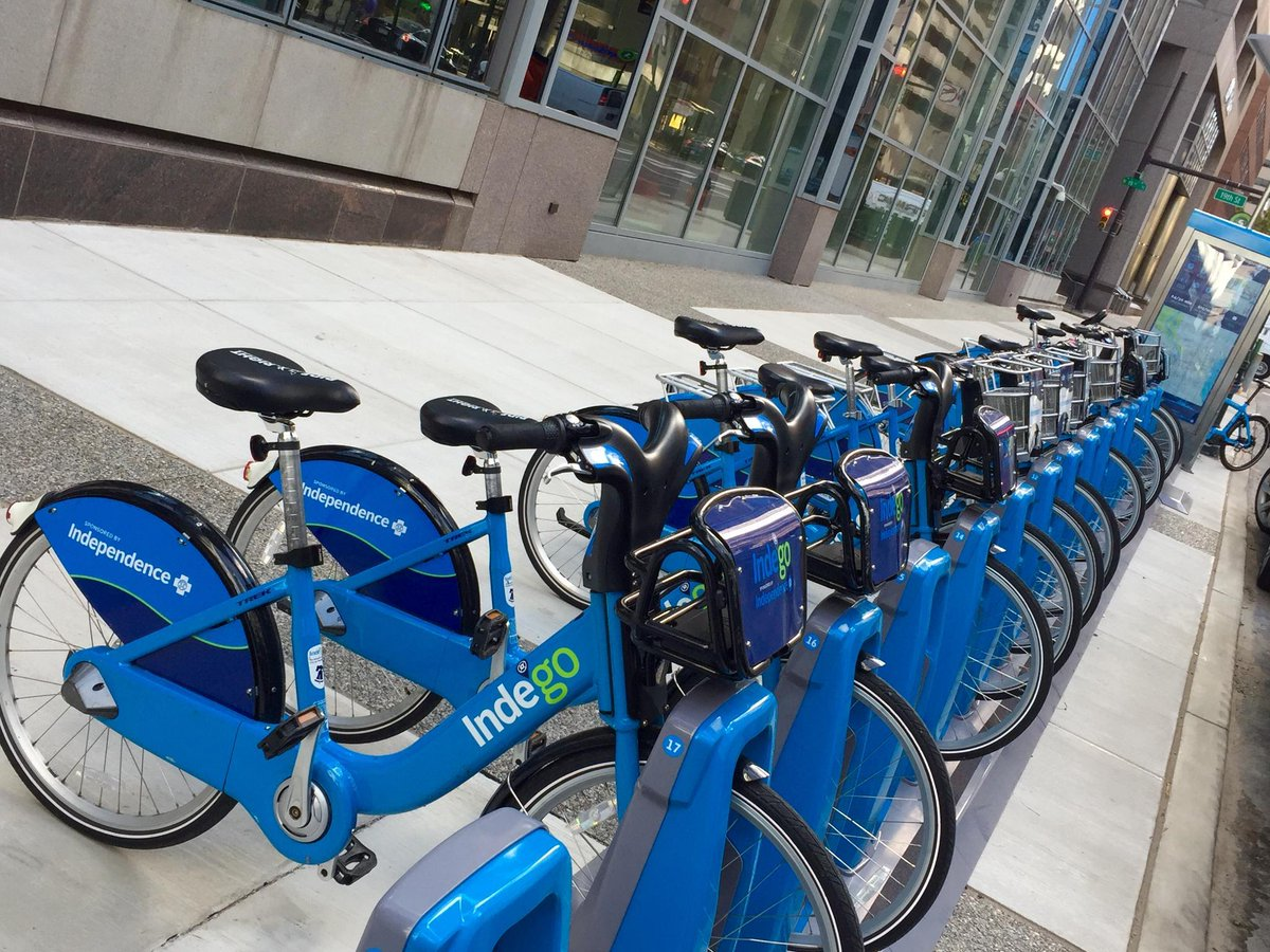 Pedal to the polls: @RideIndego for just $1 on Election Day! #BiketoVote https://t.co/dVkYAoS2rm https://t.co/t6aQUDUq0z