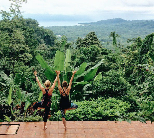 Here is to a new start, new beginning and new perspective. Happy Monday from the #Samasati family! #SamasatiYoga  Photo via #LeelaYoga https://t.co/vRXoSuE67O