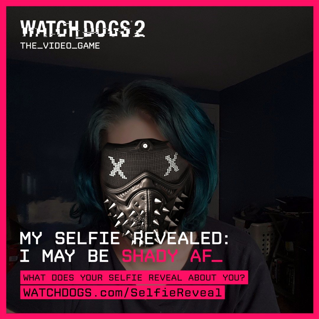 Watch Dogs Legion On Twitter Is That Why You Wear The Mask