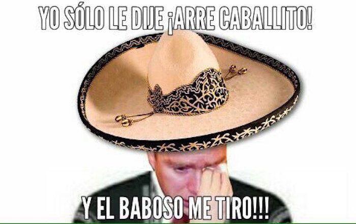 Gobernador de Chiapas se cae de Caballo