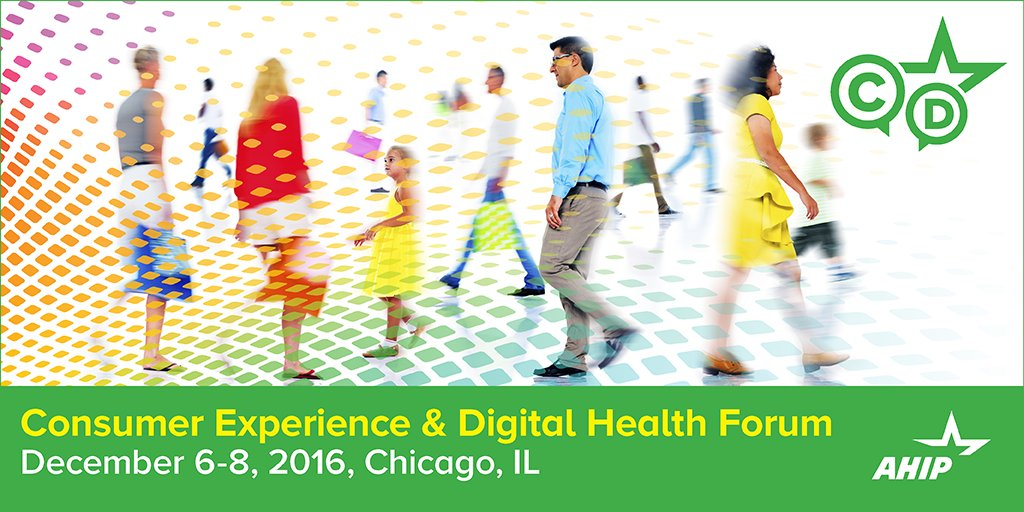 #AHIPDigital - It's about the consumer. https://t.co/GGBFa2lijd