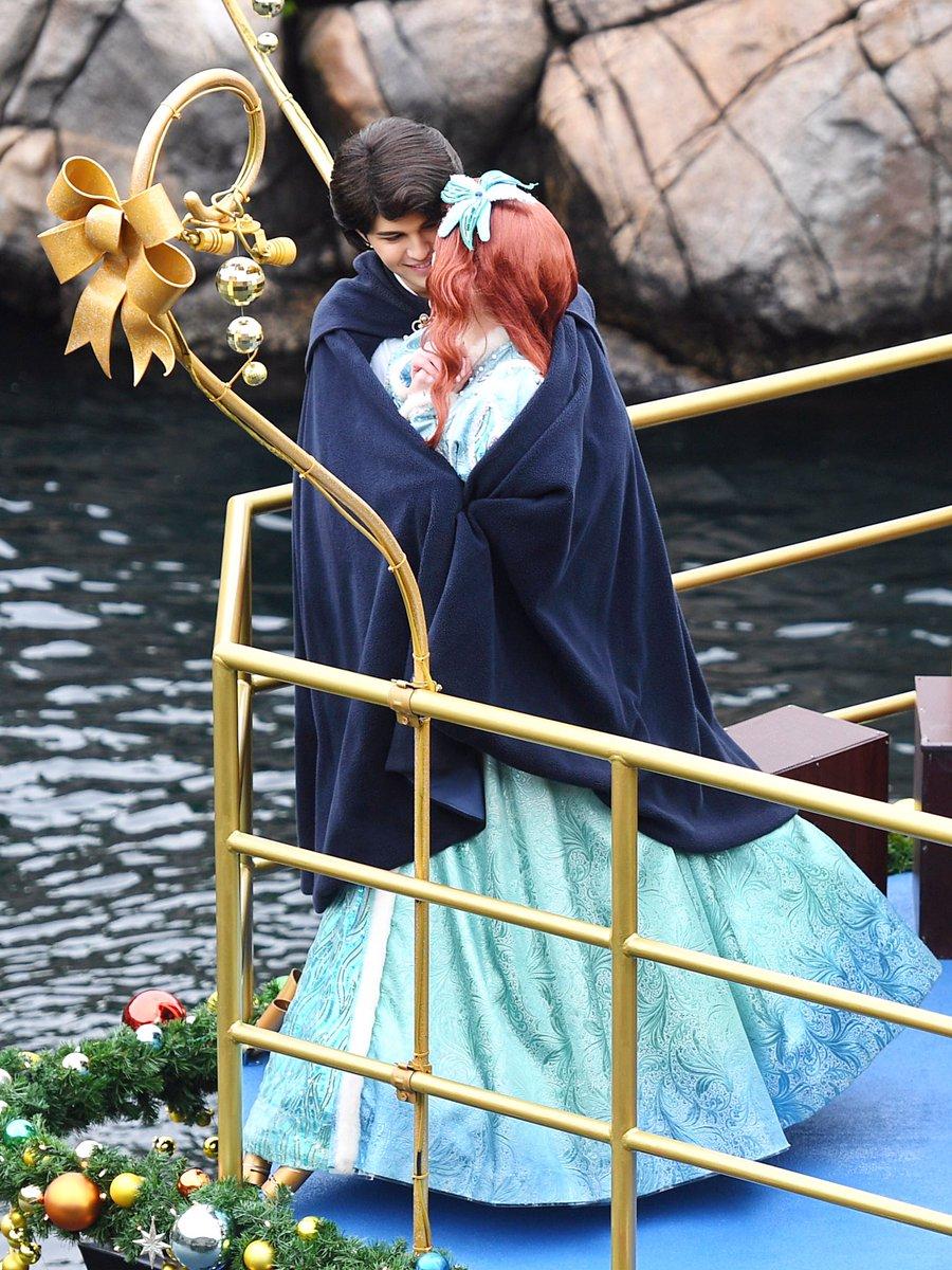 アリエルとエリック王子の素敵なクリスマス☆ dlove.jp/mezzomiki/