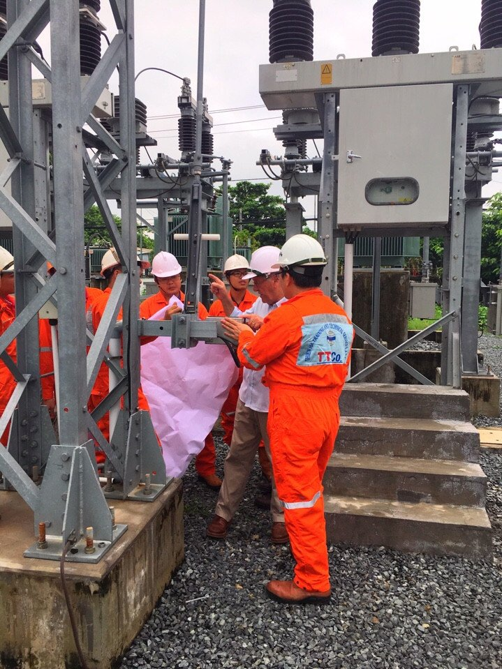 Our High Voltage Training in Vietnam. Great facility - having all equipment require for standard course.pic.twitter.com/UlZ0poClqq