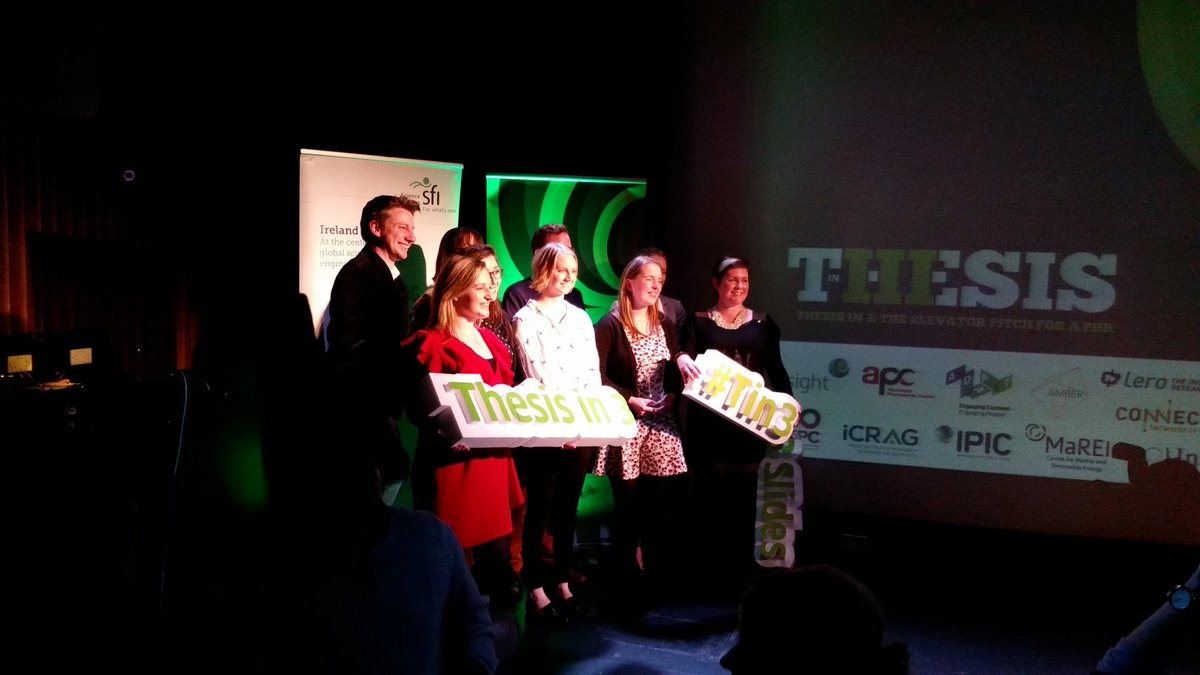 Well done to all the winners! #Tin3 #201...