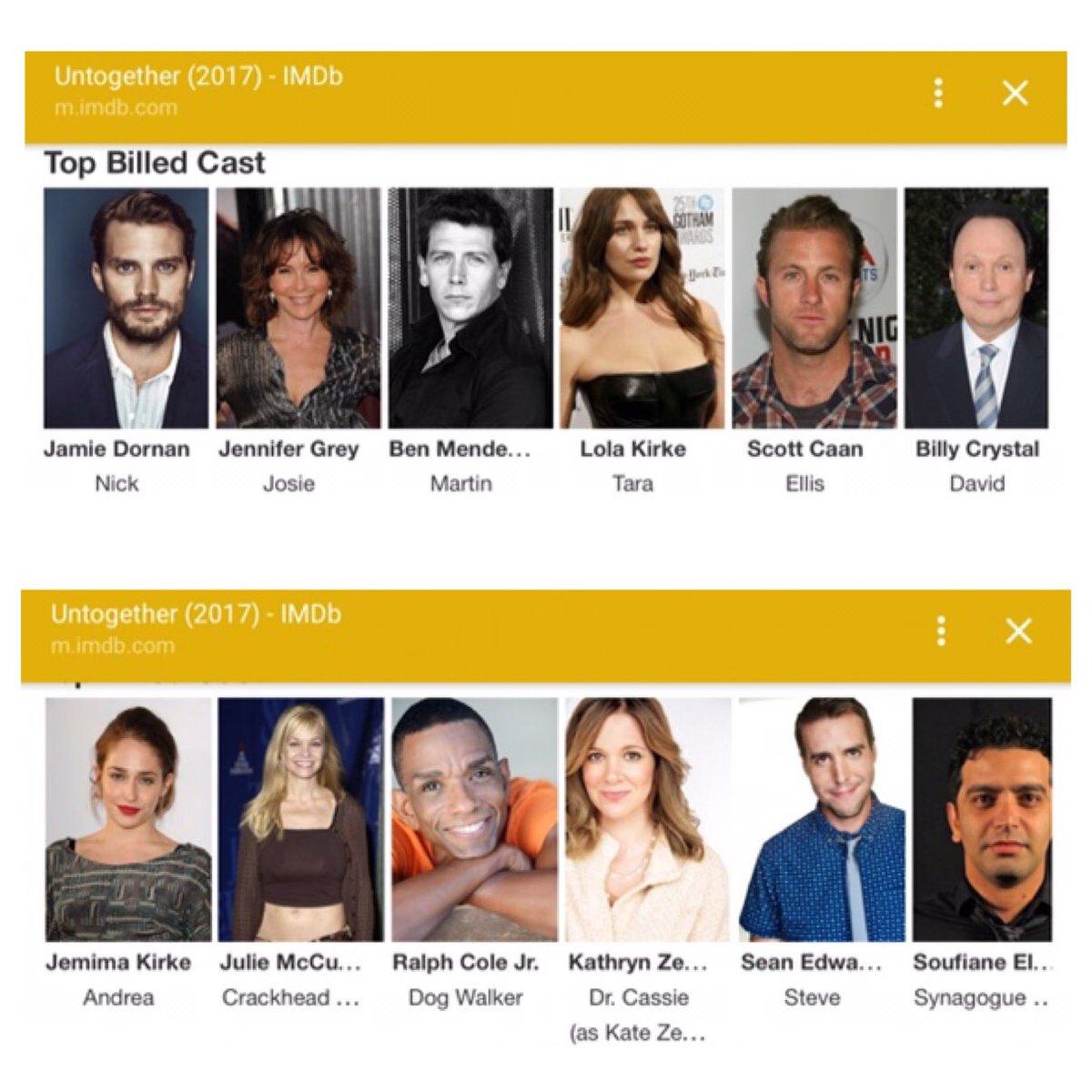 "JamieDornanLondon on Twitter: ""The cast of #Untogether movie 😊 #JamieDornan https://t.co/3bWtADxmI7"""