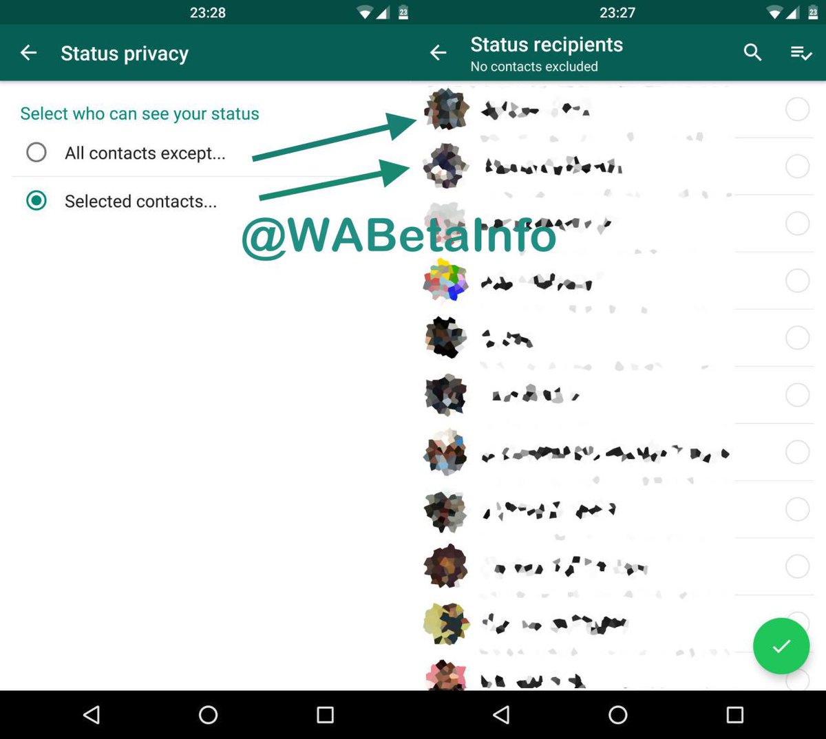 Wabetainfo On Twitter Status Privacy Selector In Latest