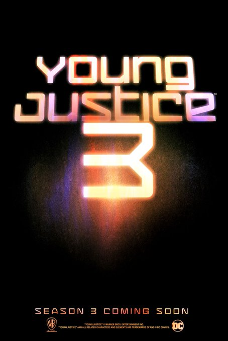 #YoungJustice SEASON 3 IS HAPPENING!!  https://t.co/4LsfV0ZKxc https://t.co/EC5G4MCreQ