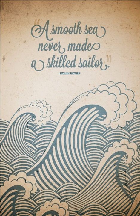A Smooth sea never made a skilled sailor #RealYou #Inspiration https://t.co/qJAzUOmQhD