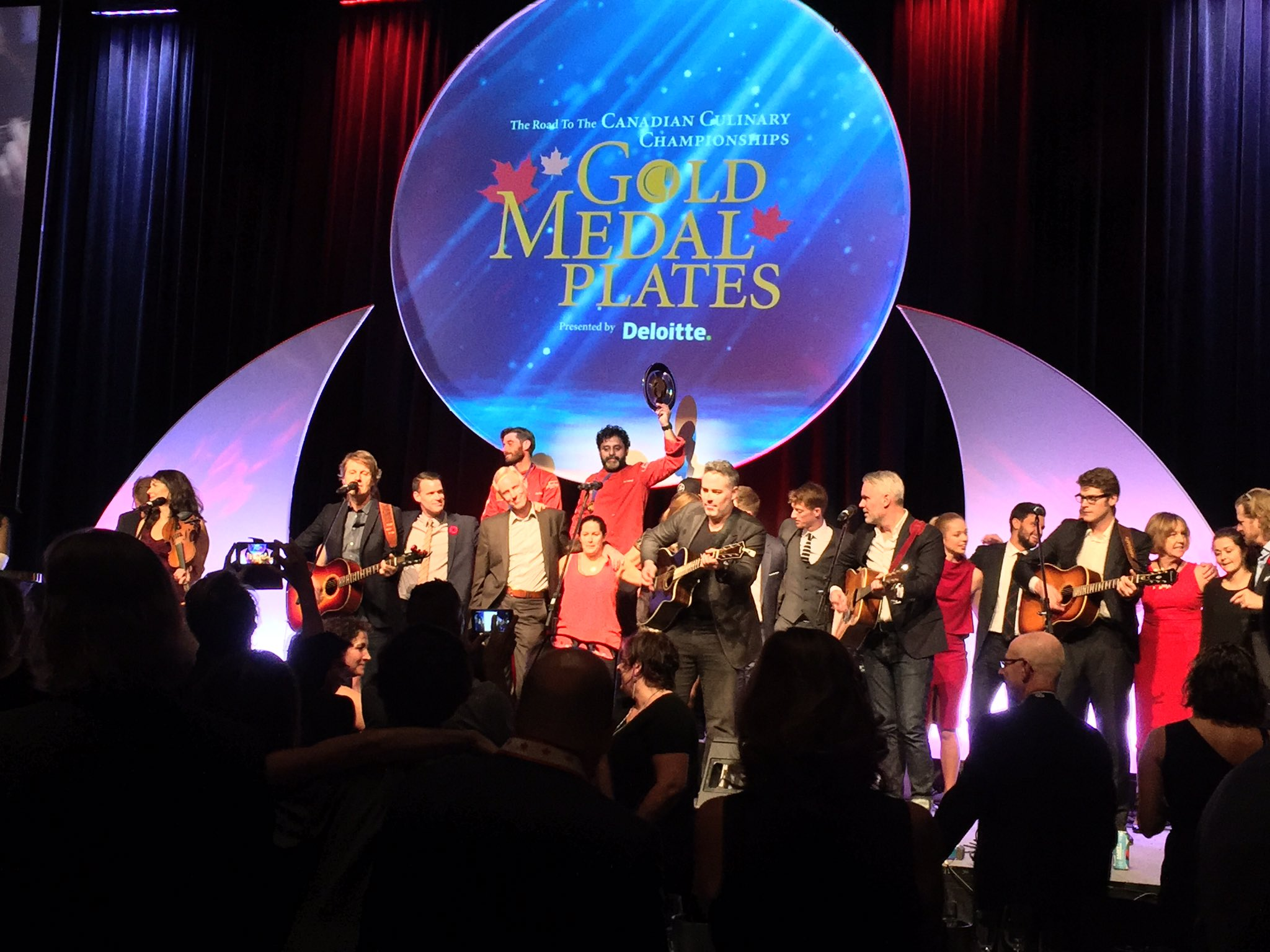 Fun night #goldmedalplates in Ottawa! #myGMP https://t.co/Y7hBXeIlC2