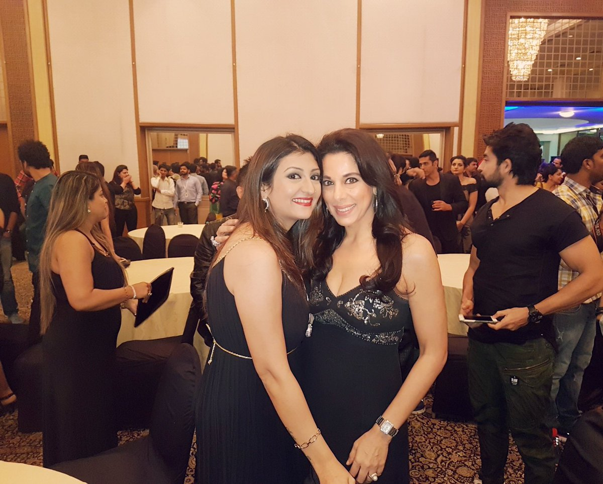 Juhi Parmar and Pooja Bedi at Shani serial live premiere image-picture