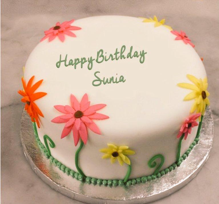 Happy Birthday Sania Cake Image Happy Birthday Sania Youtubehappy