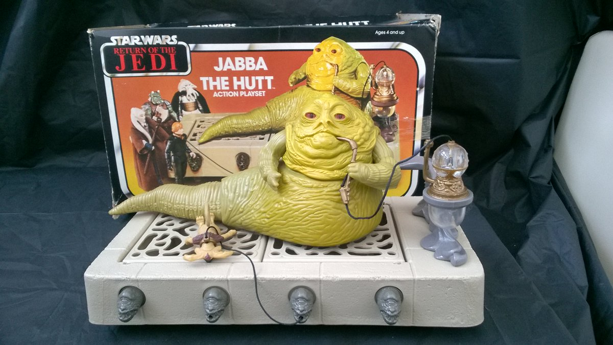 Star Wars-Jabba the Hutt ACTION Playset Display Case