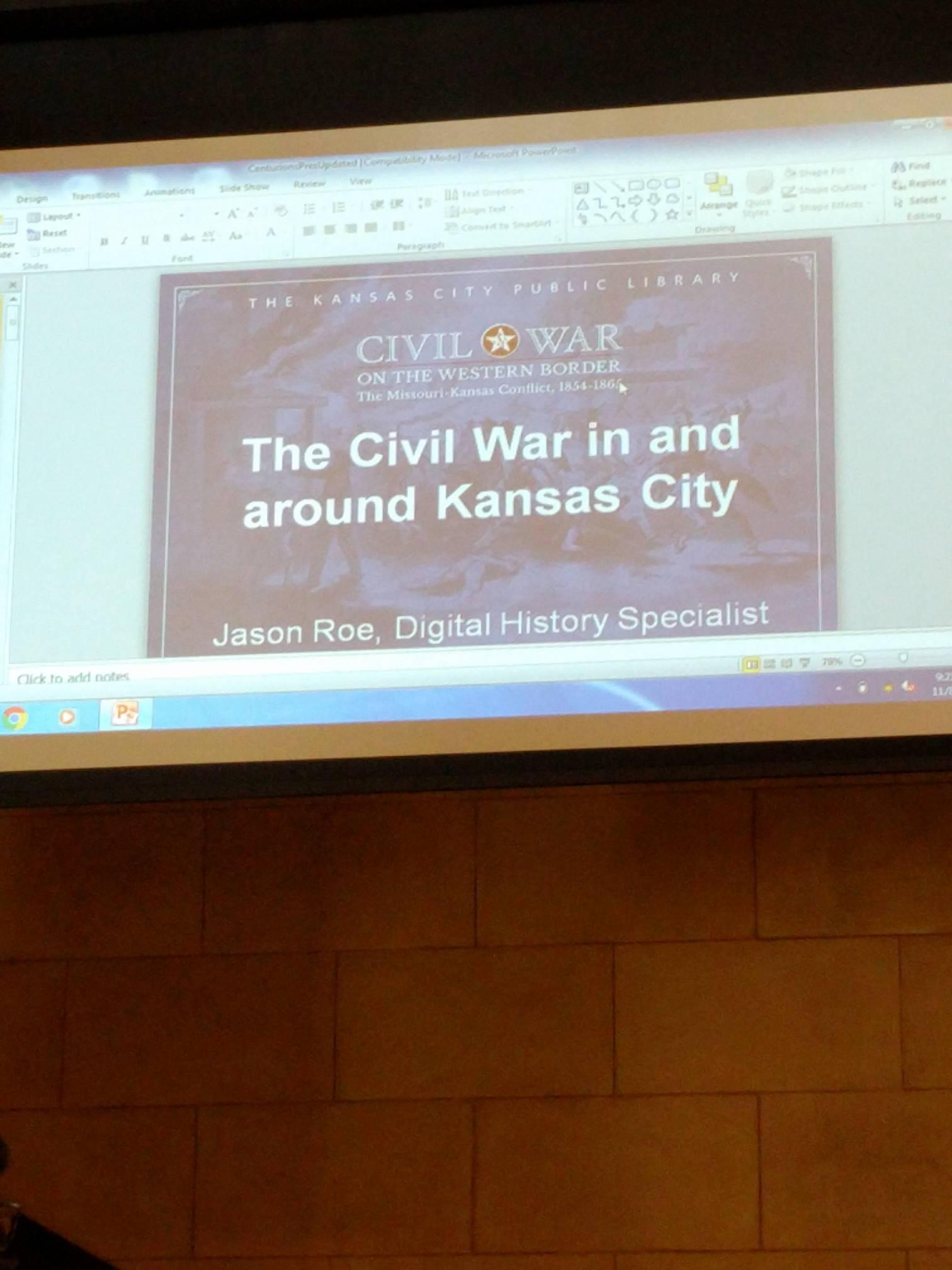 Thumbnail for November History of KC Task Force